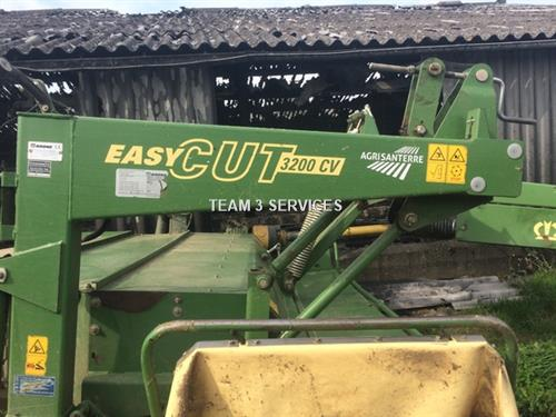 faucheuse automotrice krone easy cut 3200 cv occasion