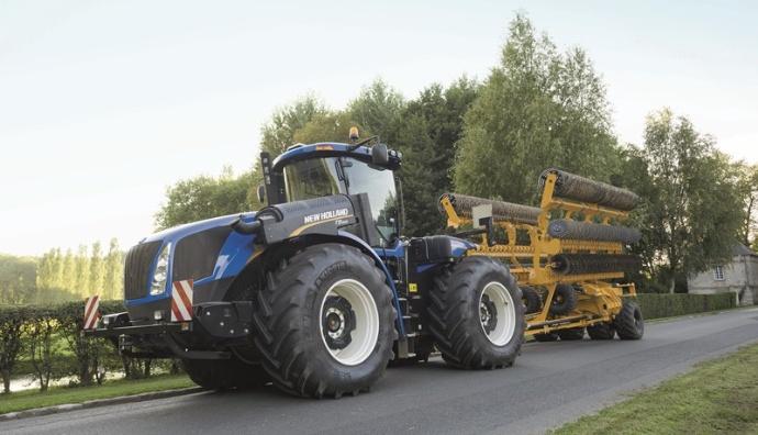Tracteurs de forte puissance - New Holland T9 génération Stage IV