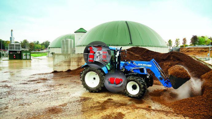 Tracteur au méthane - C'est possible New Holland le prépare!