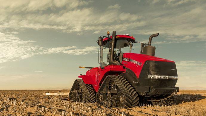 Nouveauté tracteur Case IH - Quadtrac 540 CVX, 613ch et une transmission CVX!
