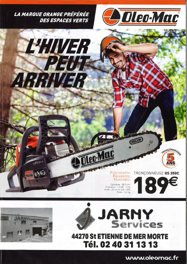 Oléo-mac : promotions hiver !