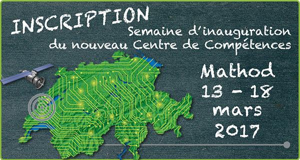 Programme & inscription _ Semaine Inauguration _ Nouveau Centre de Compétences_ 13 - 18 mars 2017