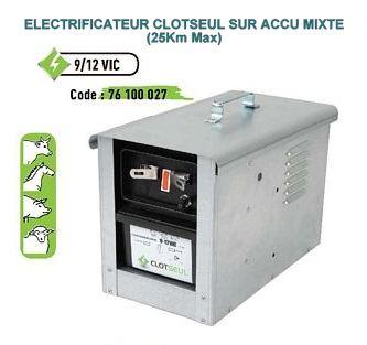 Electrificateur sur accu mixte 9/12 VIC