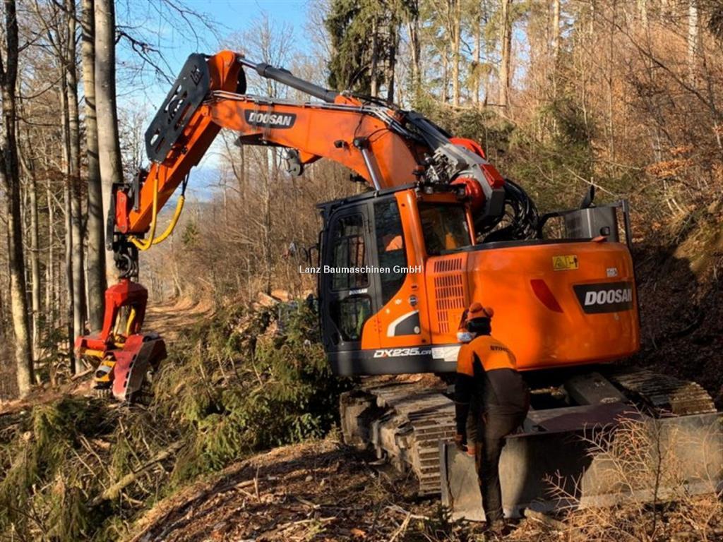 Doosan DX 235 Harvester Woody