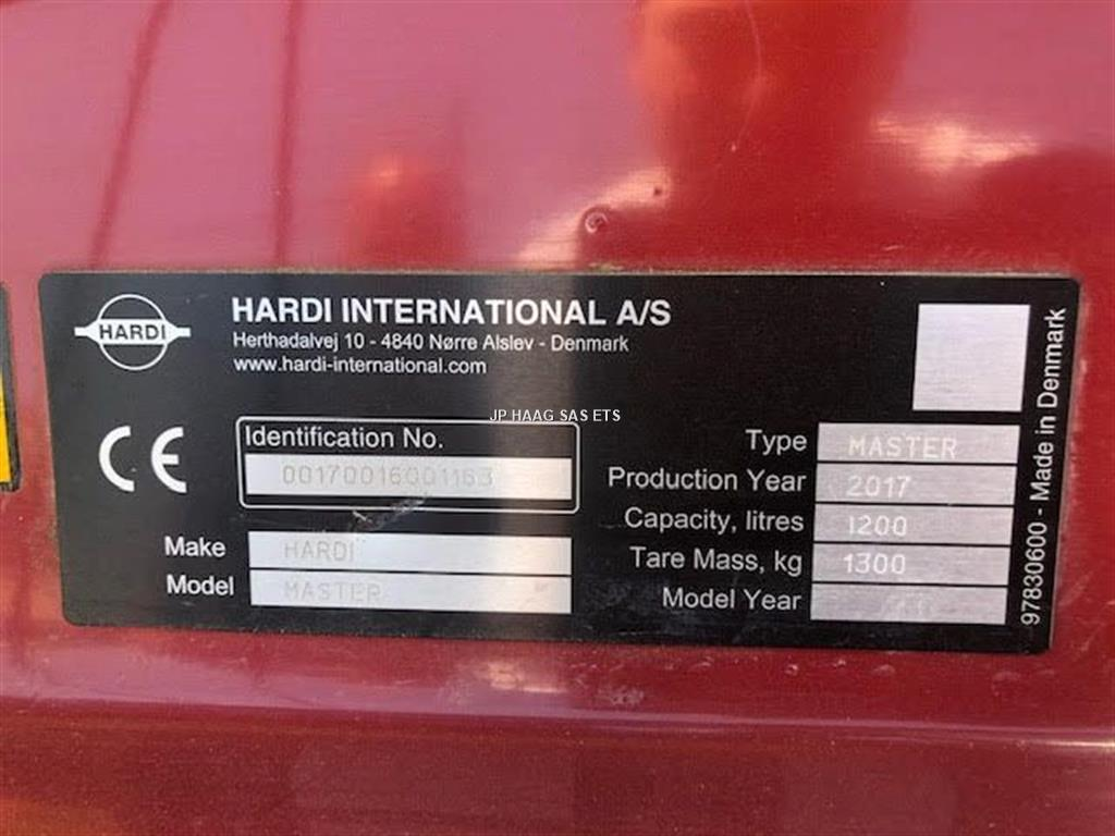 Hardi MASTER PLUS 1200