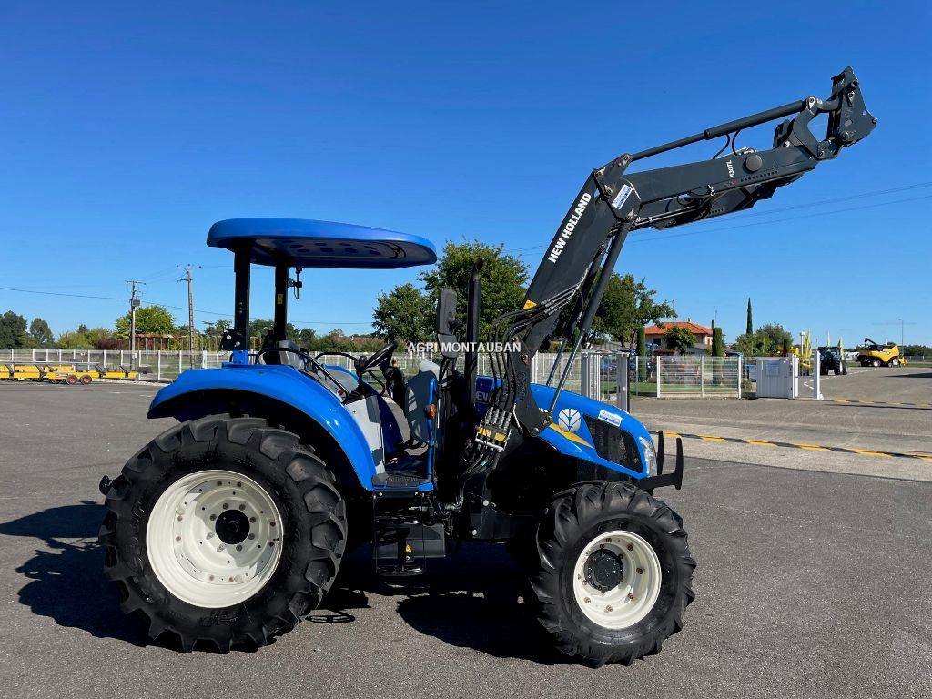 New Holland T 5.85 + CHARGEUR