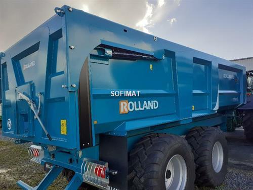 Rolland Remorque benne agricole ROLLAND ROLLSPEED ROLL SPE