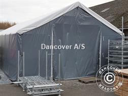 Divers Dancover Telthal Titanium 7x7x2,5x4,2m, Hvid/Grå -
