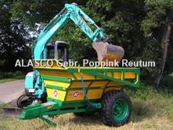 Alasco Sand- & Kieskipper Einachser ODU30