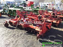Rau Cultivateur à axe horizontal Rototiller 3m Rau