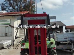 Strautmann Hubgestell eigenbau mit Euronormaufnahme