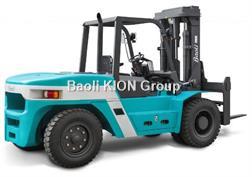 BAOLI Diesel 5 t à cdg 500 mm triplex 5000 mm avec posit