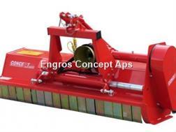 Perrugini AT160 Slagleklipper bagmonteret m. hydr. Sideforsk