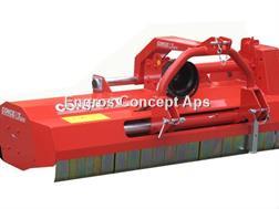 Perrugini PT250 Slagleklipper m. Hydraulisk sideforskydning