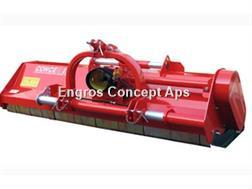 Perrugini MX320 Slagleklipper Bagmonteret m. hydr. Sideforsk