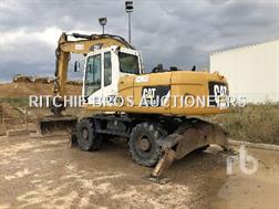 Caterpillar M318D 4x4 Pelle Sur Pneus 4x4 4x4