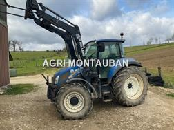 New Holland T 5.105 + CHARGEUR