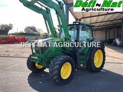 John Deere 6125R + CH JD H340