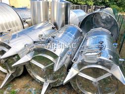 ARSILAC - Cuve inox 304 - Fond incliné - 47 HL