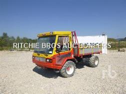 Lindner UNITRACT 75 4x4 Tracteur Utilitaire 4WD