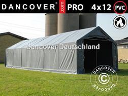 Divers Lagerzelt 4x12x2x3,1 m Zelthallen Lagerhalle Zelt