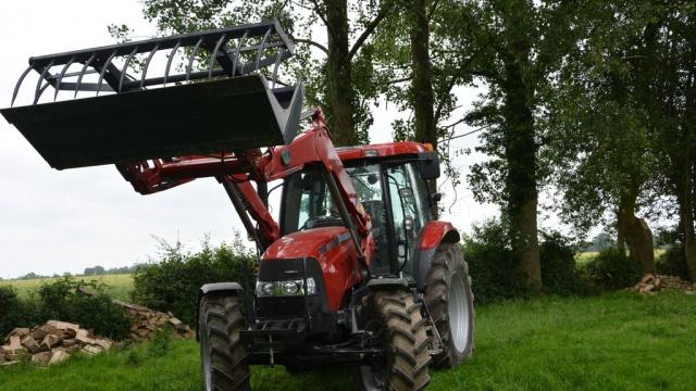 Essai du Case IH Maxxum 110 Cvx - « Un concentré de gros tracteur »