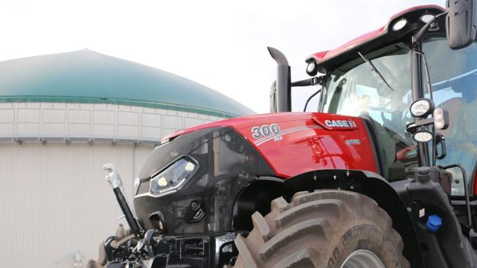 Tracteurs forte puissance - Optum Cvx, la nouvelle gamme de Case IH