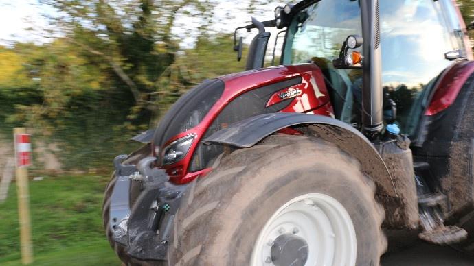 Tracteurs - Le voile se lève sur la nouvelle série N de Valtra