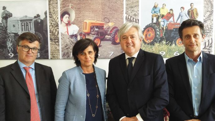 Info firme - New Holland passe un accord avec MascarS.p.a.