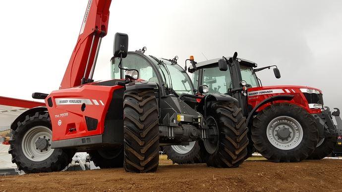Nouveaux télescopiques - Les Massey Ferguson TH débarquent sur Innov-agri