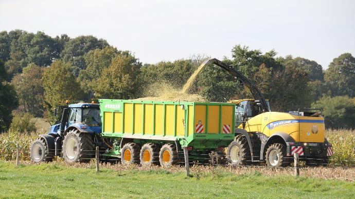 Ensileuse New Holland - Nir on Board: la valeur alimentaire des fourrages en direct