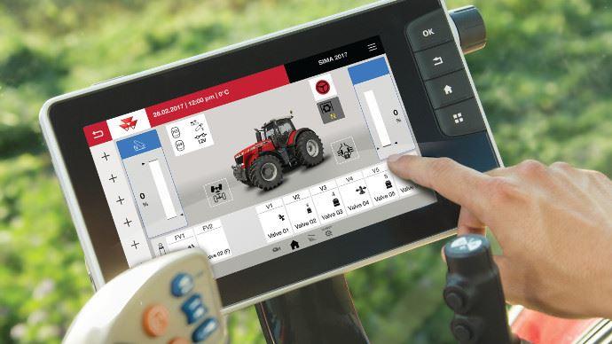 Nouvelles technologies - Pilotez un tracteur du bout des doigts, c'est possible chez Massey Ferguson
