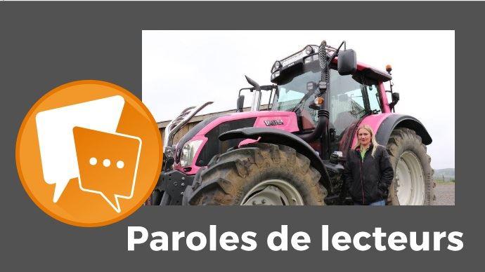 Paroles de lecteurs - Le tracteur Valtra rose fait parler dans les campagnes