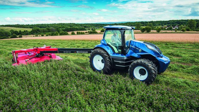 Nouveaux tracteurs - New Holland, un concept design pour ses tracteurs au biométhane