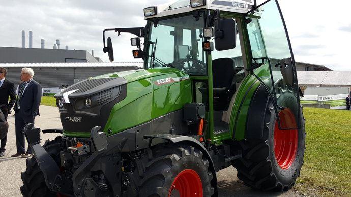 Énergie alternative - Fendt e100 Vario: le premier tracteur desérie fonctionnant à l'électricité