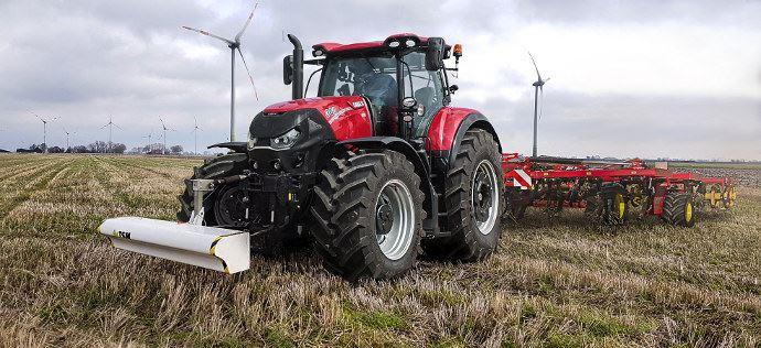 Agriculture de précision - Le Topsoil Mapper de Case IH optimise le travail du sol