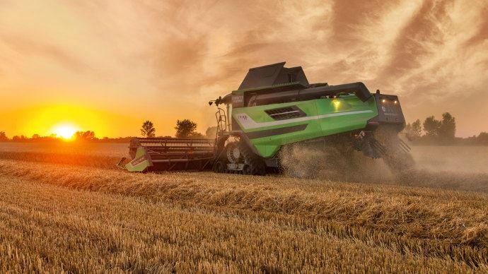 Moissonneuse-batteuse - C9300: Deutz-Fahr améliore ses machines haut de gamme