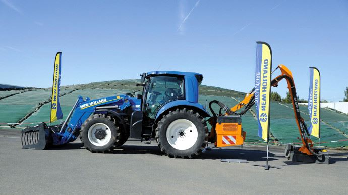 Tracteur au méthane - Ça gaze pour le T6.180 Methane Power de New Holland !