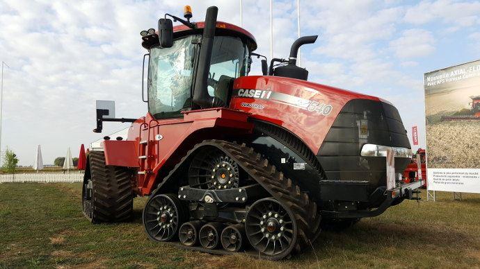 Compaction des sols - Case-IH investit dans l'agriculture à circulation raisonnée