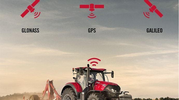 Agriculture de précision - Case IH intègre la constellation Galileo dans sa correction de signal
