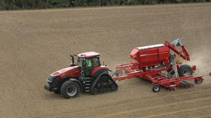 Nouveauté tracteur - Confort, productivité et connectivité pour le Magnum de Case IH