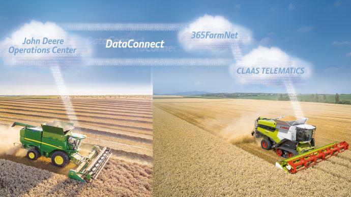 DataConnect - L'interface unique qui relie le parc matériel John Deere et Claas