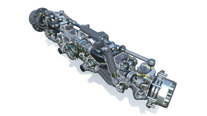 Massey Ferguson - Plus de traction et de confort grâce au pont avant suspendu de la gamme 3700 AL