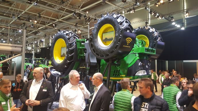 Info firme - Aucun salon international en 2021 pour John Deere