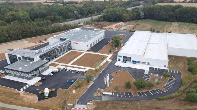 [Info firme] Claas - Le technopôle installé à Ymeray déjà opérationnel