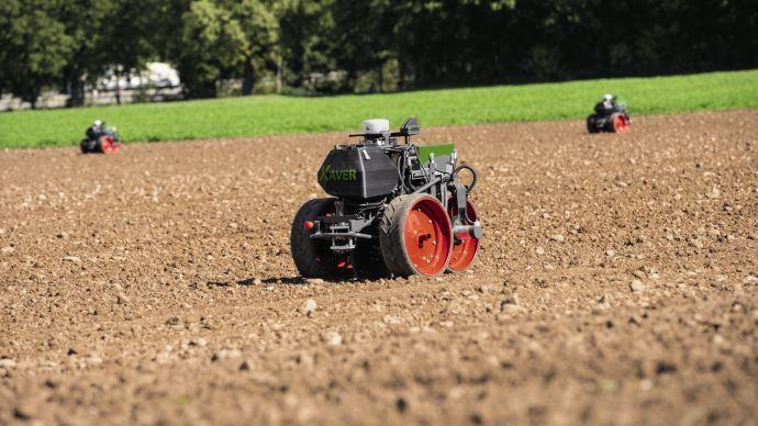 Robotique agricole - La nouvellegénération Fendt Xaver perd une roue et gagne en maniabilité