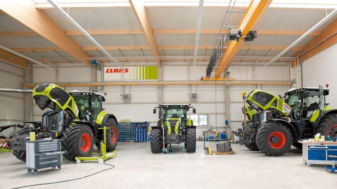 Matériel d'occasion - Claas renforce sa participation dans E-Farm, site de vente en ligne