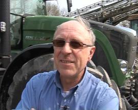 Terre à Terre 2009 - Edmond Ghestem : agri-essayeur du Fendt Vario 927