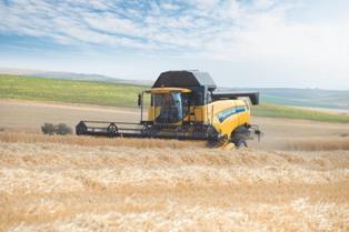 Nouveauté Sima - CX 5000 et 6000 - New Holland affirme son style de récolte