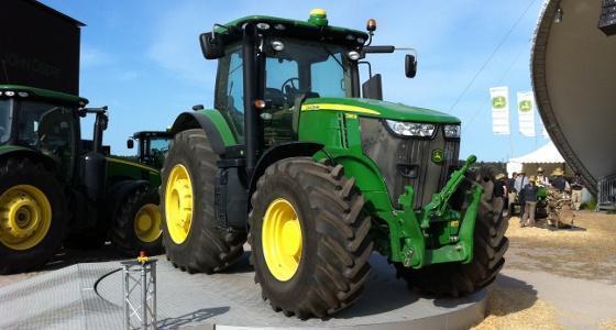 Agritechnica 2011 - Le John Deere 7280R élu tracteur de l'année 2012